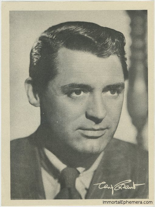 Cary Grant 1946 Motion Picture Magazine Premium Photo