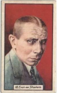 Erich von Stroheim 1930 BAT Tobacco Card