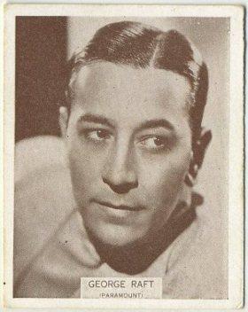 George Raft 1934 Wills Tobacco Card