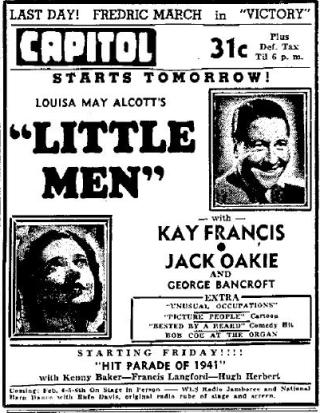 Little Men Advertisement