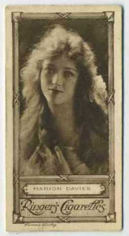 Marion Davies 1923 Ringers Tobacco Card