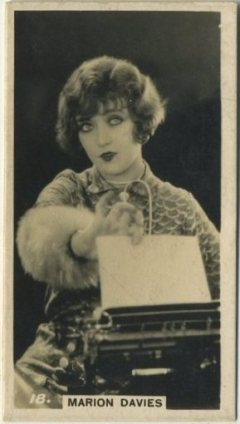 Marion Davies 1925 BAT Tobacco Card