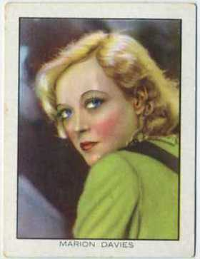 Marion Davies 1933 BAT Tobacco Card