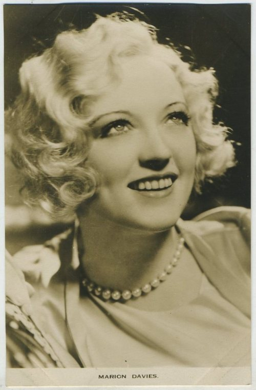 Marion Davies 1930s Film Weekly Postcard