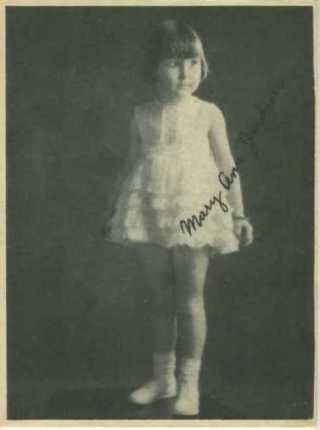 Mary Ann Jackson 1920s Kashin Motion Picture Stars