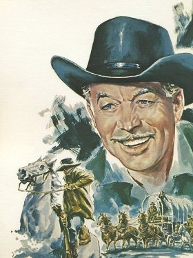 Ward Bond 1973 John Ford Cowboy Kings Print