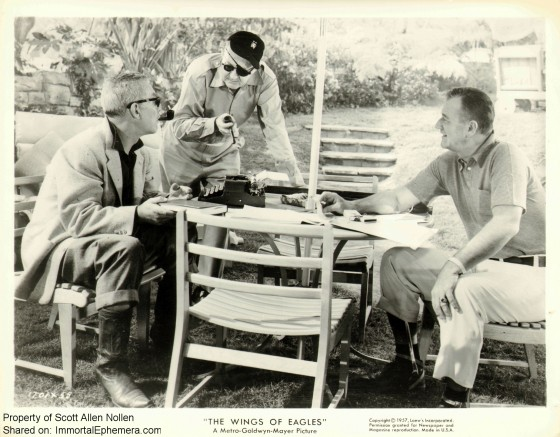John Ford, John Wayne and Ward Bond