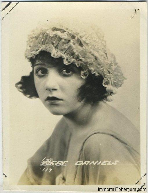 Bebe Daniels circa 1920 Fox Promotional Portrait