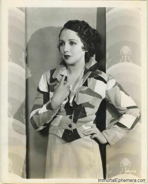 Bebe Daniels 1930s Promotional Photo