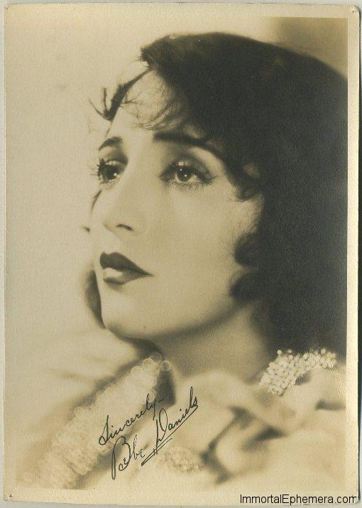 Bebe Daniels circa 1920s 5x7 Fan Photo