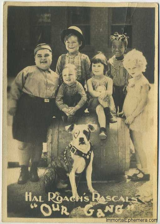 Hal Roach Our Gang 1920s Fan Photo