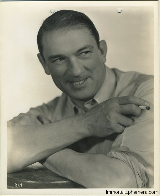 Victor McLaglen 1930s era 8x10 Promotional Photo
