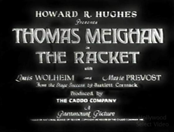 The Racket 1928