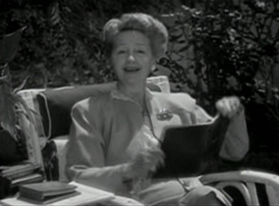 Hedda Hopper in The Corpse Came COD