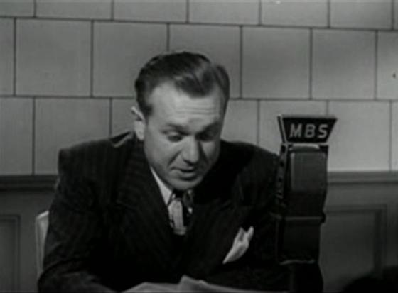 Erskine Johnson in The Corpse Came COD