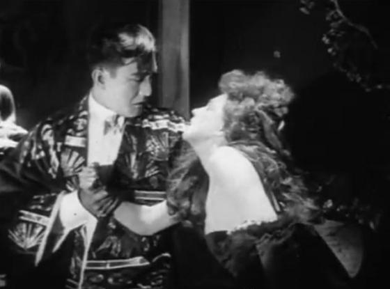 Sessue Hayakawa and Fannie Ward in The Cheat