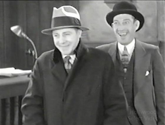Skeets Gallagher and Lee Moran