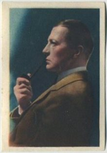 Clive Brook 1936 Nestle Trading Card