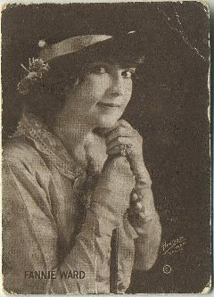 Fannie Ward 1910s Trading Card