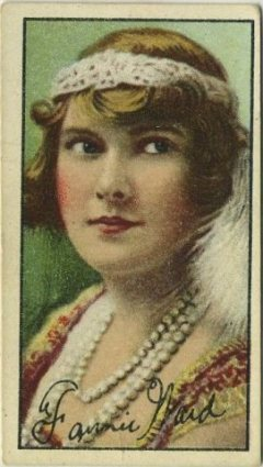 Fannie Ward 1916 Imperial Tobacco Card