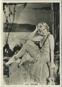 Joan Blondell 1930s Godfrey Phillips Beauties Tobacco Card