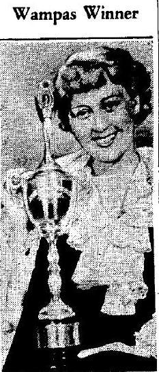 Joan Blondell Wampas Silver Trophy