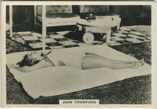 Joan Crawford 1930s BAT Modern Beauties Tobacco Card