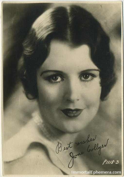 June Collyer 1920s 5x7 Fan Photo