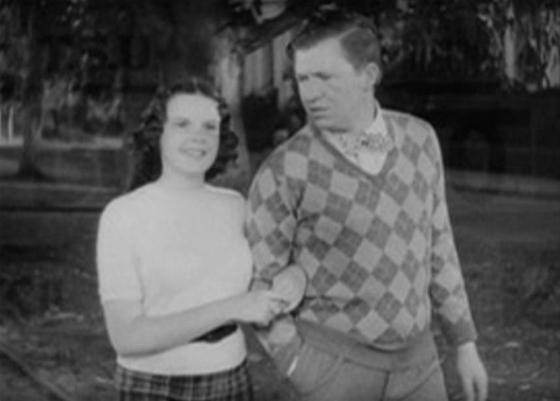 Judy Garland and Stuart Erwin