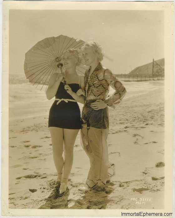 Ruth Channing and Mary Carlisle 1930s MGM Promotional Photo