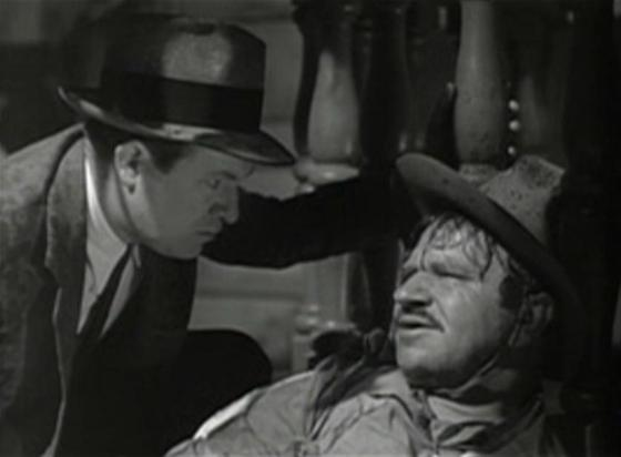 Stuart Erwin and Wallace Beery