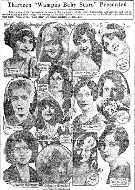 Wampas Baby Stars of 1927