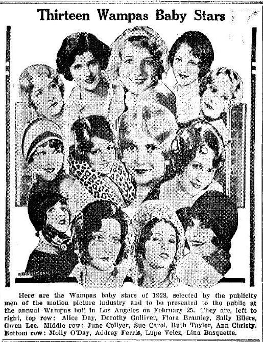 Wampas Baby Stars of 1928