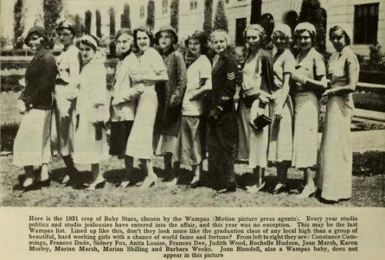 Wampas Baby Stars of 1931