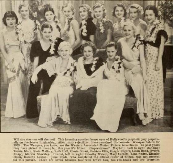 Wampas Baby Stars of 1932