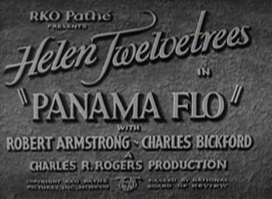 Panama Flo 1932