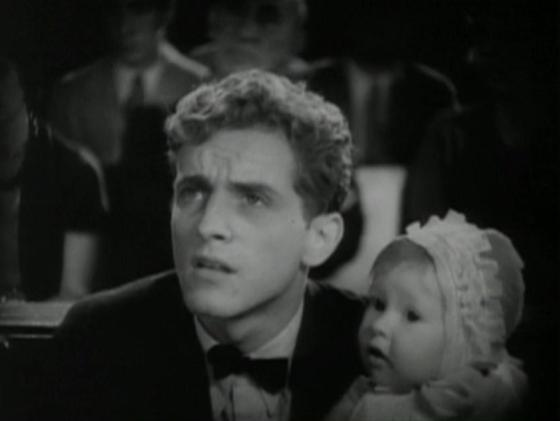 Phillips Holmes and the Baby