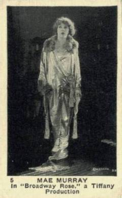 Mae Murray 1923 Neilsons Trading Card
