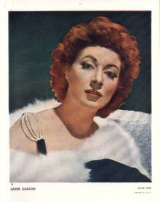 Greer Garson 1940s Paper Premium Photo