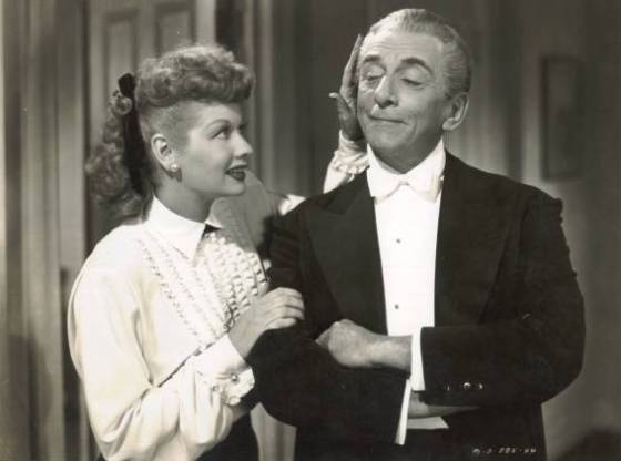 Still Photo - Lucille Ball and Edward Everett Horton in Her Husbands Affairs