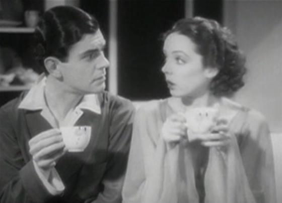 Barry MacKay and Jessie Matthews
