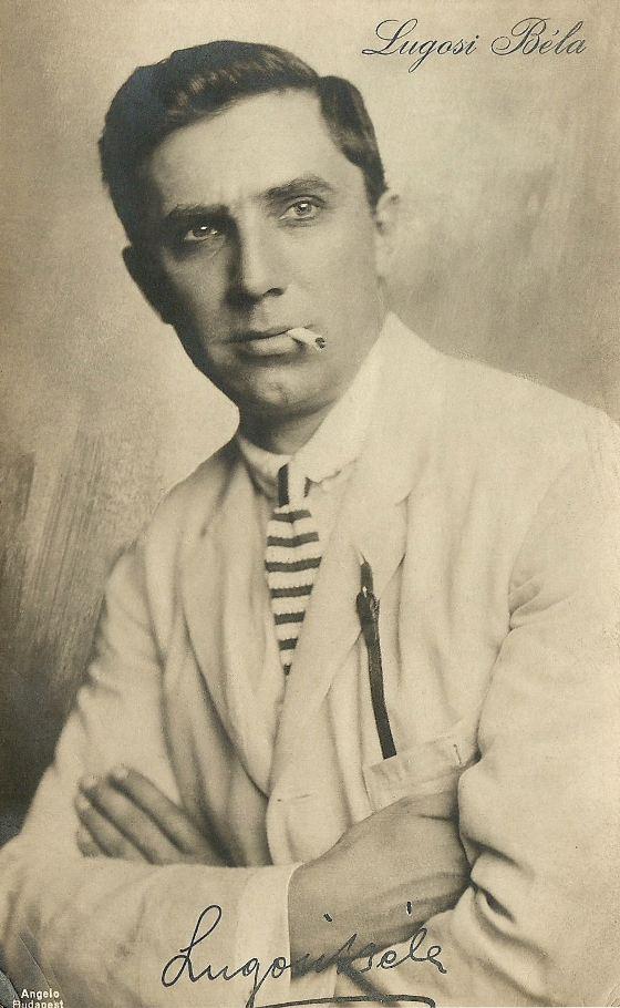 Bela Lugosi Hungarian Postcard
