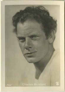 Charles Bickford 1930s A Batschari German Tobacco Card
