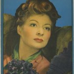 Greer Garson 1940s Writing Tablet Cover