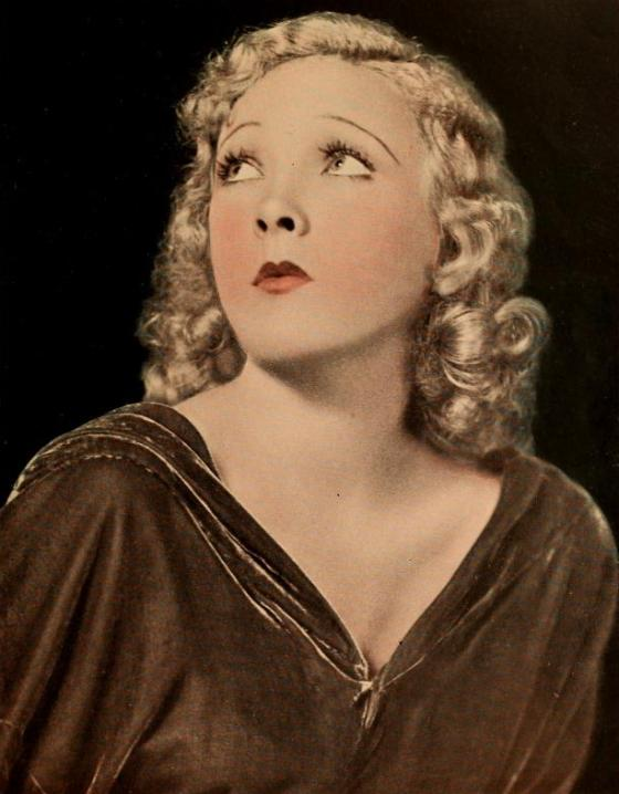 Helen Twelvetrees portait in Photoplay Magazine, March 1932