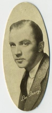 Lee Tracy 1934 Carreras Film Stars Tobacco Card