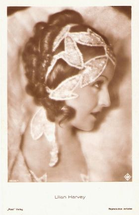 Lilian Harvey Ross Verlag Postcard