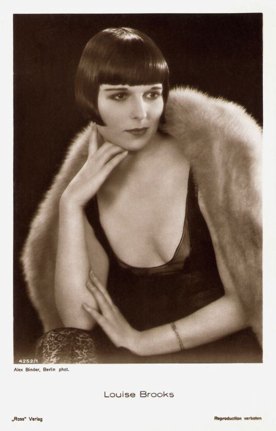 Louise Brooks Ross Verlag Postcard