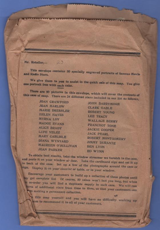 1933 Lux Premium Envelope