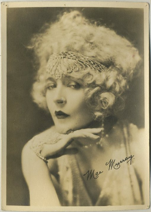 Mae Murray 1920s era 5x7 Fan Photo